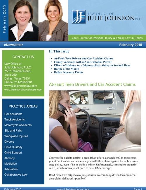 February 2015 eNewsletter